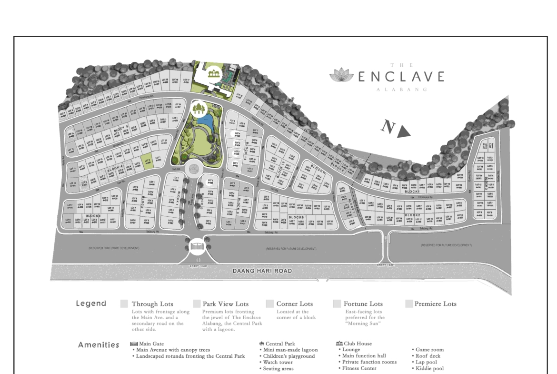 The Enclave Alabang SDP B4L2